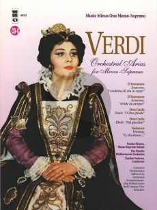 Verdi Opera Arias for Mezzo Soprano with Orchestra (Bk-Cd) (MMO)