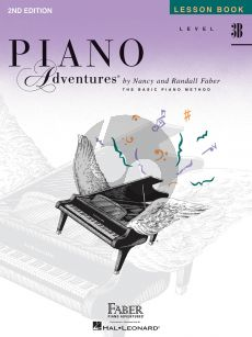 Faber Piano Adventures Lesson Book Level 3B (Second Edition)