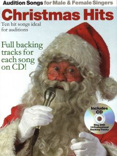 Audition Songs for Male & Female Vocalists: Christmas Hits (Bk-Cd)