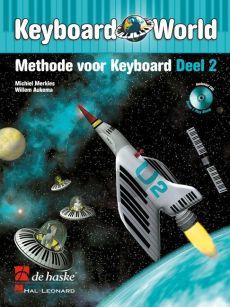 Merkies Keyboard World Vol.2 (Methode voor Keyboard) (Bk-Cd)