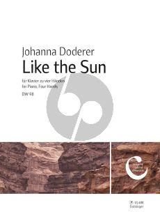 Doderer Like the Sun DWV 98 Klavier 4 Hd.