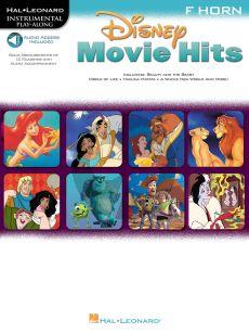 Disney Movie Hits for Horn (Hal Leonard Instrumental Play-Along) (Bk-Audio Access Code)