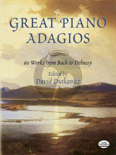 Great Adagios for Piano