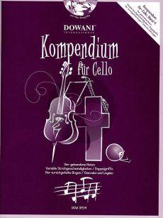 Kompendium für Cello Vol. 4 (Buch mit 2 CD's)