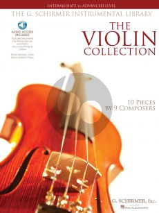 Album The Violin Collection Book with Audio Access Online (Intermediate to Advanced Level)
