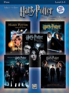 Harry Potter Instrumental Solos (Movies 1 - 5) Flute (Level 2 - 3) (Bk-Cd) (arr. Bill Galliford)