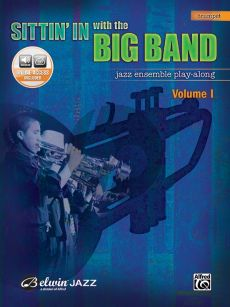 Sittin'in With the Big Band Vol. 1 for Trumpet (Bk-Cd)