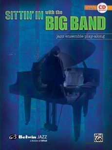 Sittin'in With the Big Band Piano Accompaniment (Bk-Cd)