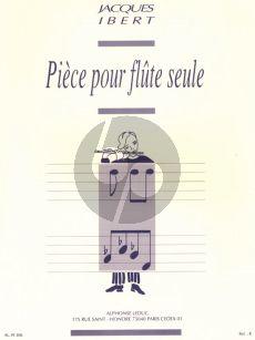 Ibert Piece flute solo