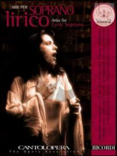 Arias for Lyric Soprano Vol.2 (Voice-Piano)