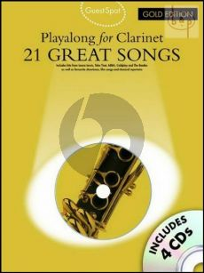 Guest Spot Playalong Gold Edition (21 Great Songs) for Clarinet