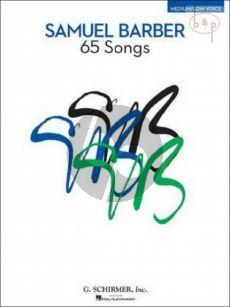 65 Songs Medium / Low Voice-Piano