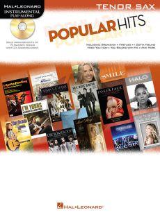 Popular Hits Instrumental Play-Along Tenor Sax.