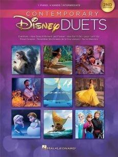Contemporary Disney Duets (Piano 4 Hds 2nd Edition) (interm.-adv.level)