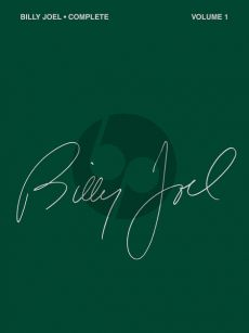 Joel Complete Vol.1 Piano-Vocal-Guitar