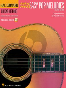 Even More Easy Pop Melodies Guitar (Book with Audio)