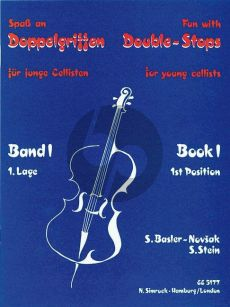 Fun with Double Stops for Young Cellists Vol.1 (1st.Pos.)