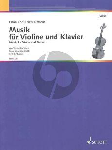 Doflein Musik Vol.3 Violine und Klavier (From Vivaldi to Viotti) (changes of position)