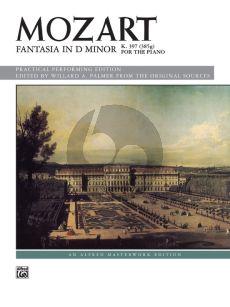 Mozart Fantasia D-minor KV 397 (385g) Piano solo (edited by Willard A. Palmer)