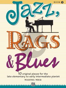 Mier Jazz-Rags & Blues Vol.1 Piano Solo (Late Elementary to Early Intermediate)