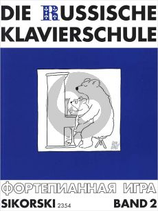 Nikolajew Die Russische Klavierschule Vol.2 (ed. Julia Suslin)