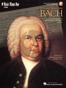 Bach Piano Concerto D-Minor BWV 1052 for Keyboard and Orchestra Book with Audio Online (includes Demonstration and Backing Tracks) (Pianist David Syme)