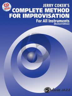 Coker Complete Method for Improvisation Book with Cd