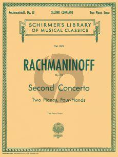 Rachmaninoff Concerto No.2 Op.18 (Piano-Orch.) (red. 2 piano's)