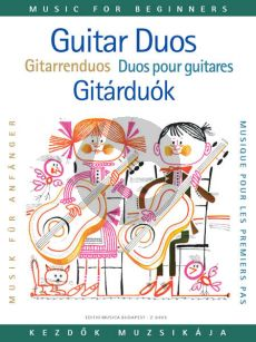 Guitar Duos (Music for Beginners Series) (Edited by Miklós Mosóczi)