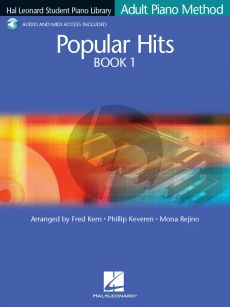 Popular Hits Vol.1 (Hal Leonard Student Piano Library Adult Method) (edited by Fred Kern-Phillip Keveren & Mona Rejino) (Bk with Online Audio)