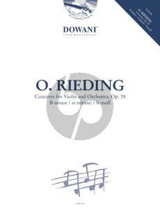 Rieding Concerto B-minor Op.35 (Violin-Piano) (Bk-Cd) (Dowani 3 Tempi Play-Along)