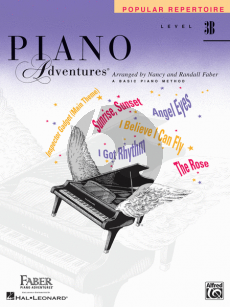 Piano Adventures Popular Repertoire Book Level 3B