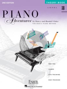 Faber Piano Adventures Theory Book Level 3B (2nd Edition)