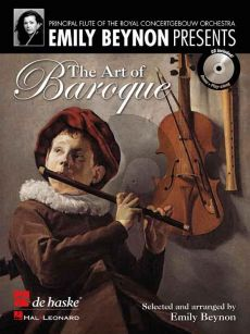 The Art of Baroque Flute and Piano (Bk-Cd) (edited by Emily Beynon)