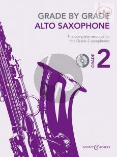 Grade by Grade Vol.2 (Alto Sax.-Piano)