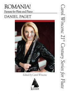 Paget Romania! Fantasy for Flute and Piano (edited by Carol Wincenc)
