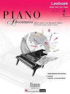 Piano Adventures Lesboek 2 Nederlandse editie