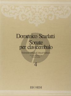 Scarlatti Sonate per Clavicembalo Vol.4 L.154 - L. 213 (aritical edition by Fadini)