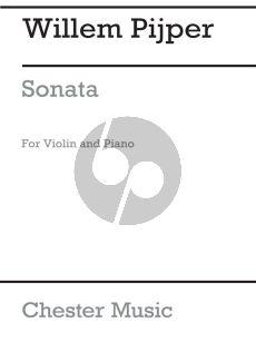Pijper Sonata Violin and Piano (1919)