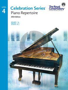 Celebration Series Piano Repertoire Vol.4 Book with Audio online