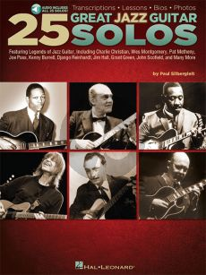 25 Great Jazz Guitar Solos (Transcriptions-Lessons)