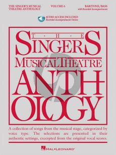 The Singer's Musical Theatre Anthology Vol.6 Baritone/Bass