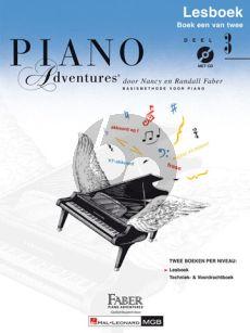 Faber Piano Adventures Lesboek 3 (Boek met CD) (Nederlandse editie)