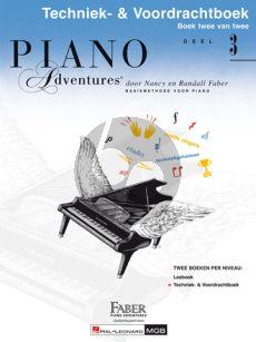 Faber Piano Adventures Techniek- & Voordrachtboek 3 (Ned)