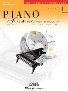Piano Adventures Technique & Artistry Book Level 4