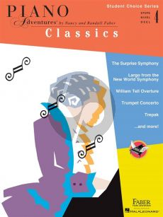 Faber Piano Adventures: Classics - Level 4 (Student Choice Series)