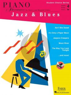 Faber Piano Adventures: Jazz & Blues - Level 2 (Student Choice Series)
