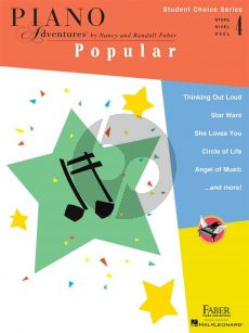 Faber Piano Adventures: Popular - Level 4 (Student Choice Series)