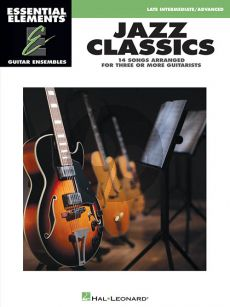 Jazz Classics Essential Elements for Guitar Ensembles