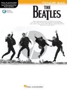 The Beatles Instrumental Play-Along Tenor Sax (Book with Audio online)